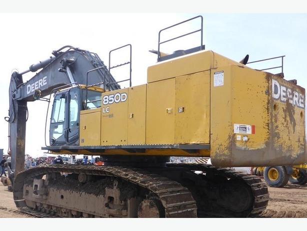 John Deere 850D Excavator Parts