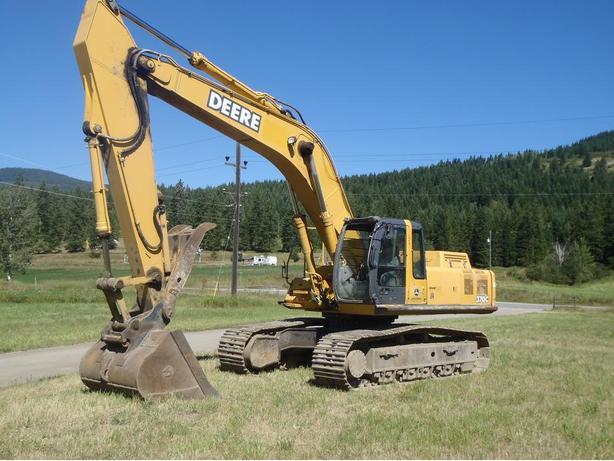 John Deere 370C LC Excavator Parts
