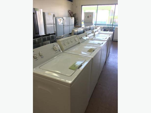 WASHERS AND DRYERS - GAS AND ELECTRIC