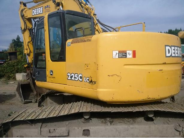 John Deere 225C LC RTS Excavator Parts