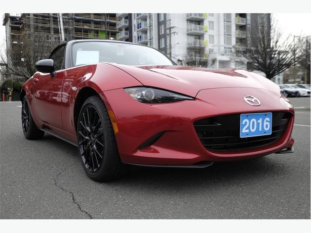 2016 MAZDA MX-5 GS 6MT SPRT PKG