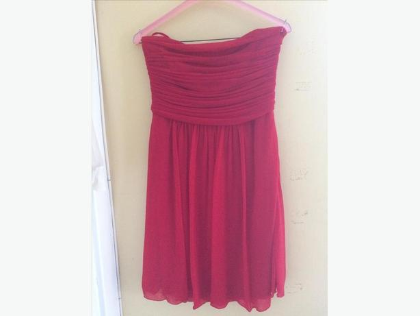 Strapless Red Le Chateau Formal Dress Central Ottawa Inside