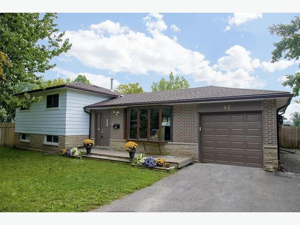 **SOLD** 46 Highland Drive, Orangeville, Real Estate MLS Listing