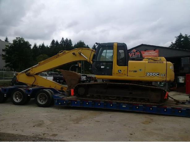 John Deere 200C LC Excavator Parts