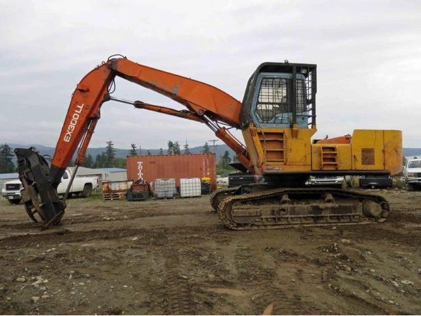 Hitachi EX300-3 Log Loader Parts