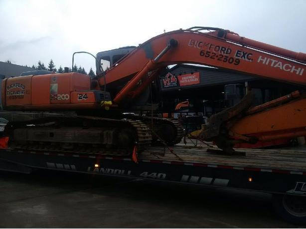 Hitachi EX200-5 Excavator Parts