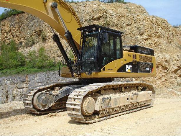 Cat 345C Excavator Parts