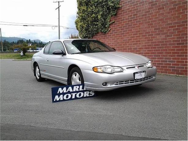 2001 Chevrolet Monte Carlo SS