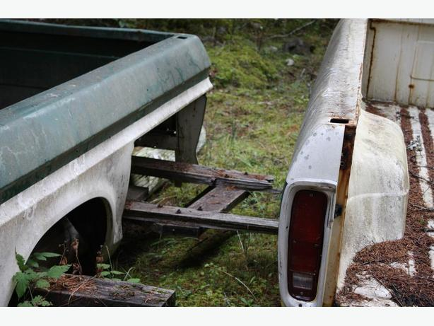 HARD TO FIND , 1973 – 1979 FORD F350 Super Camper Special Truck Box