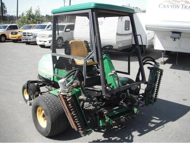 2003 John Deere 3215b Real Mower 5 Gang Diesel