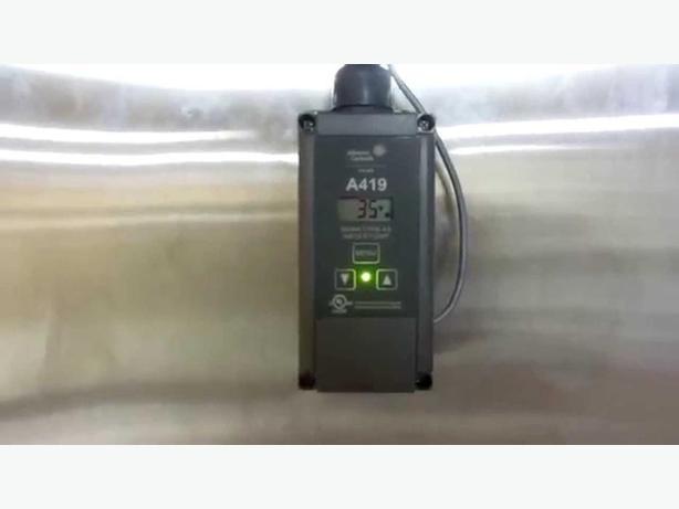 Johnson Controls A419 Temperature Controller