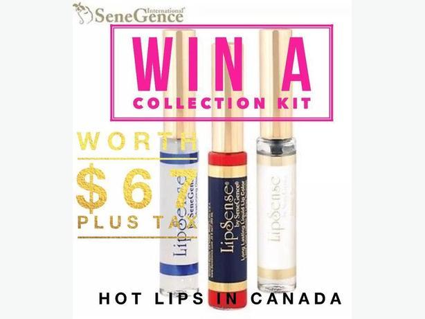 FREE: Lipstick CONTEST (Lipsense 3 piece Collection Kit)