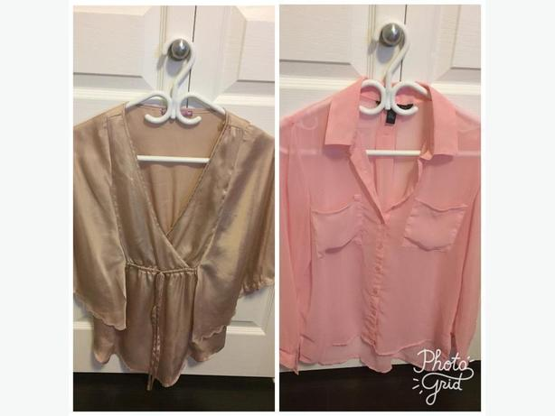 Two tops for sale