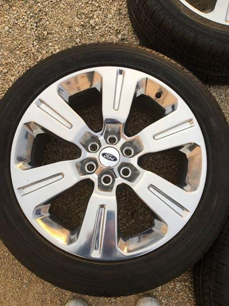 Ford F150 Rims >> 2016 Ford F150 OEM 22Inch Limited Wheels Rims Sensors - Like New Central Regina, Regina