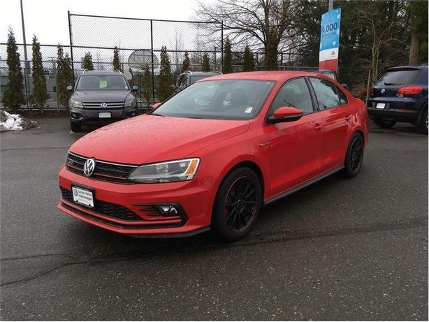 2016 Volkswagen Jetta GLI One OWNER ! SALE PRICED !