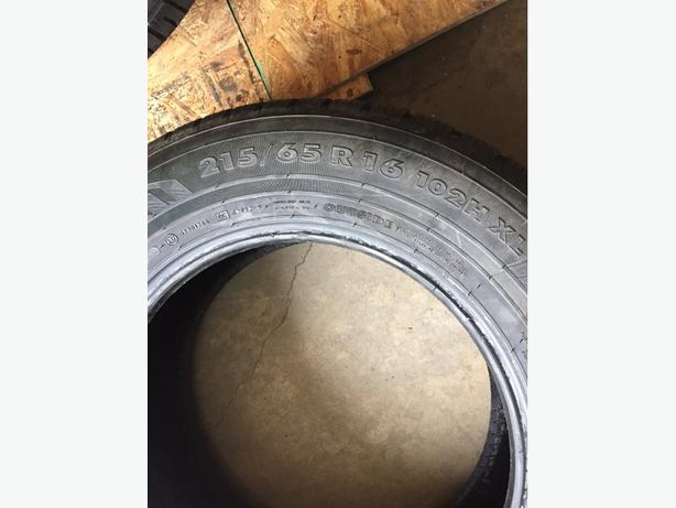 Mint Condition 1 Tire Nokian WR Sport Utility 215/65/16 102H XL