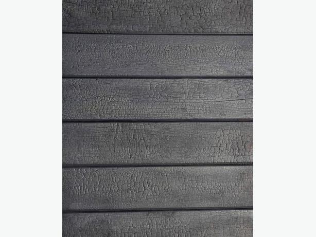 BURNT SIDING, Exterior or Interior