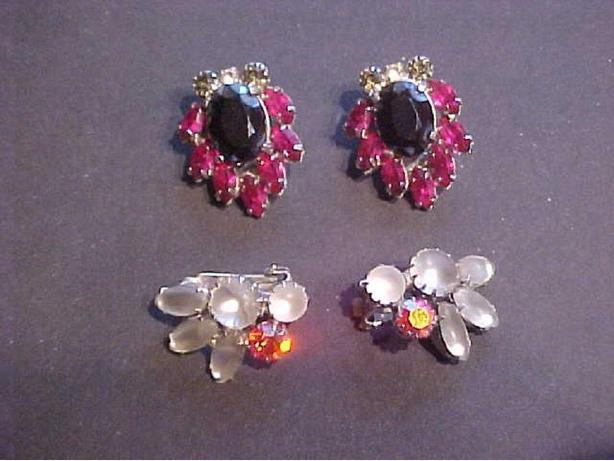 CONTINENTAL CLIP ON EARINGS