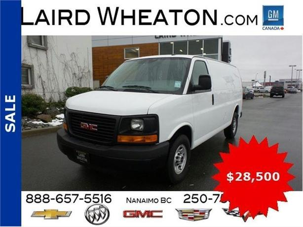 2015 GMC Savana Cargo Van w/ Convenience Package