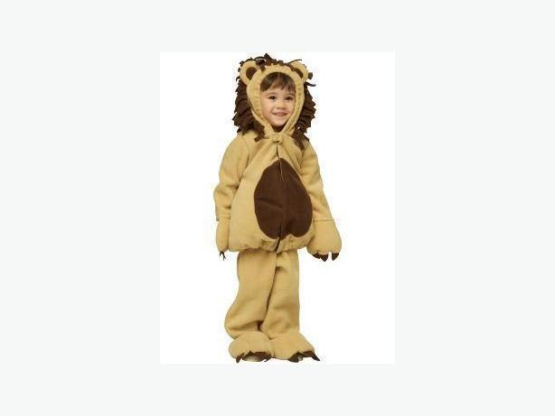 LikeNewVeryCute Old Navy Halloween Lion Costume Size 4/5T NiceWarmWithLining