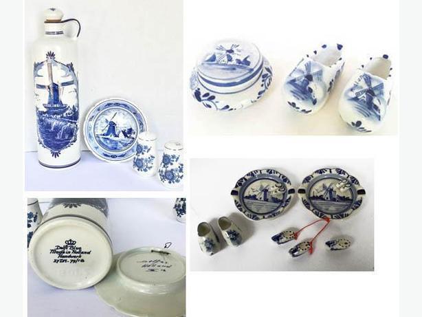 Delfts Blue 13 pieces Collectible