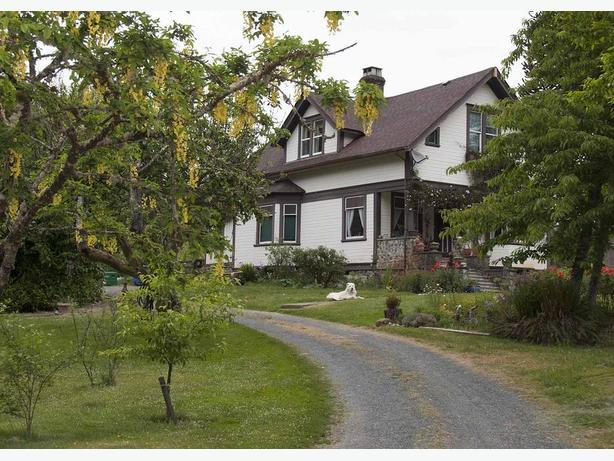 Historic Malahat Farm is now for sale.
