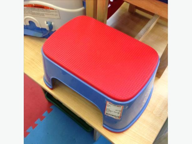 Red u0026 Blue Baby Bjorn Step Stool  sc 1 st  UsedVictoria.com & Red u0026amp; Blue Baby Bjorn Step Stool Oak Bay Victoria islam-shia.org