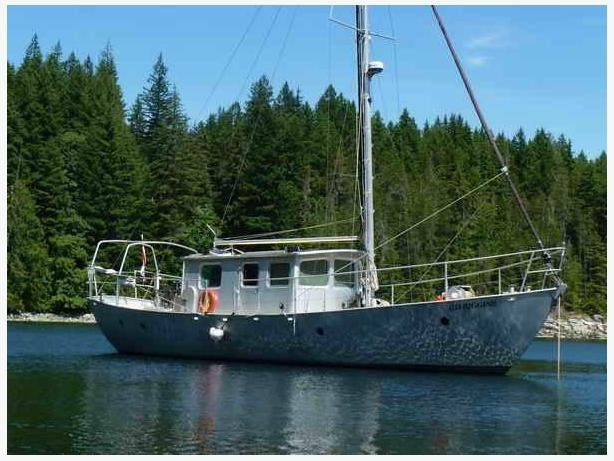 2006 Custom Pilothouse/Motorsailer - GD Riggins