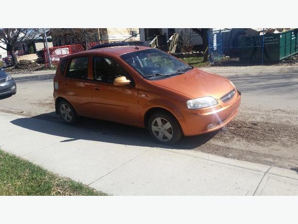 2006 chevy aveo hatchback $1000 OBO
