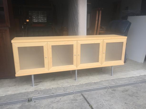 Ikea Birch Credenza : Ikea bonde birch sideboard west shore langford colwood metchosin