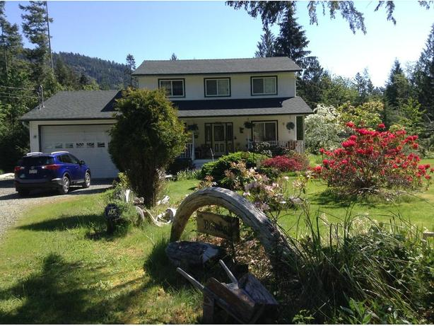 Home in Port Alberni B.C. on 4.5 acres.
