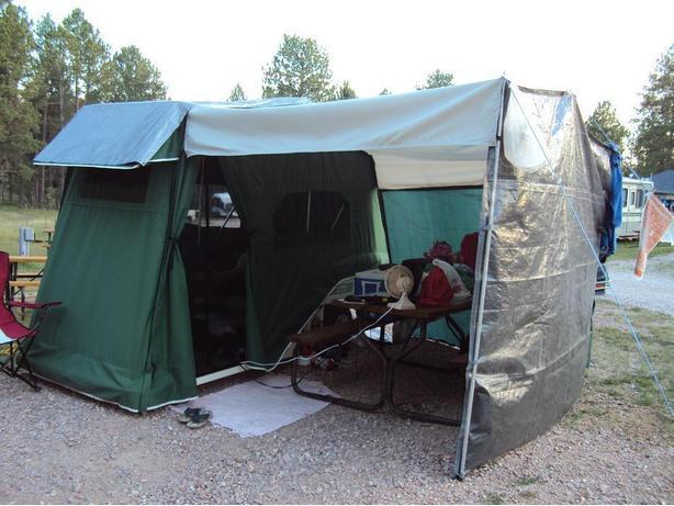 20089lees Ure Lite Motorcycle Car Popup Tent Trailer