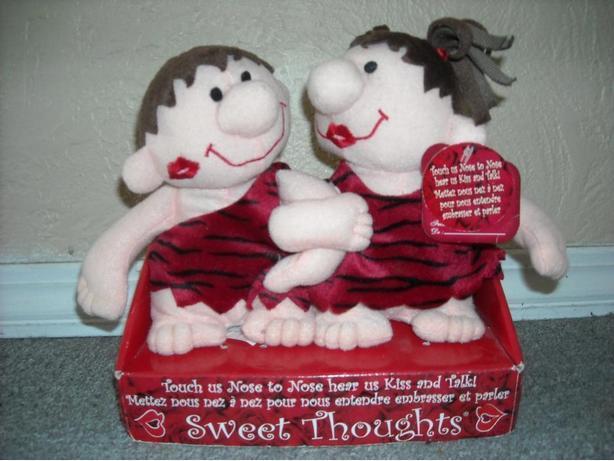 Valentine's Kissing Stuffies