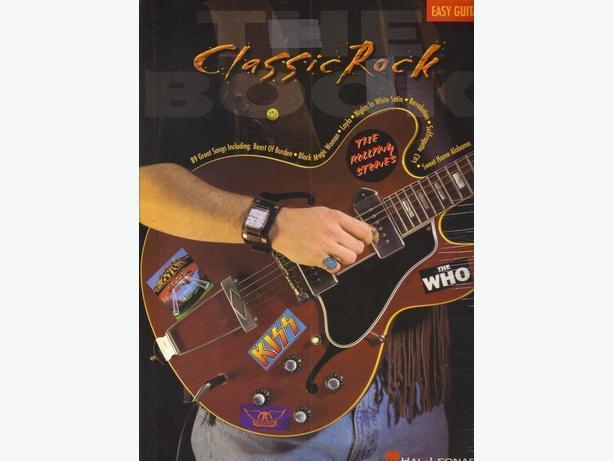 Classic ROCK Music Book