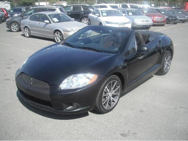 2012 Mitsubishi Eclipse GS Sport Spyder Convertible