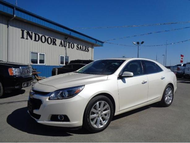 2014 Chevrolet Malibu LTZ #I5826 INDOOR AUTO SALES WINNIPEG