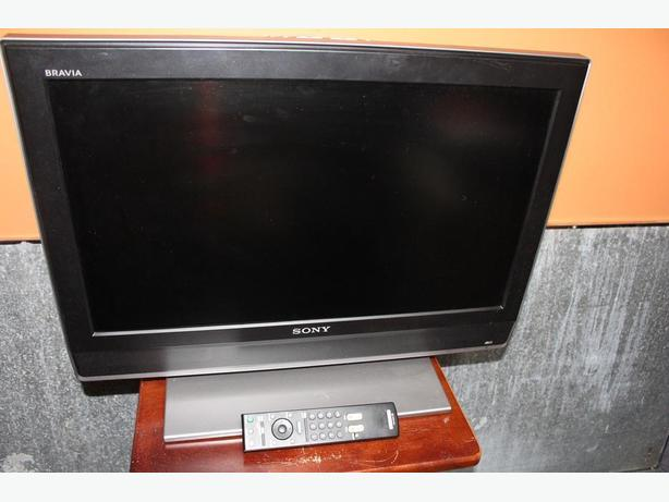 "Sony Bravia 26""LCD Digital Color TV w/ remote control"