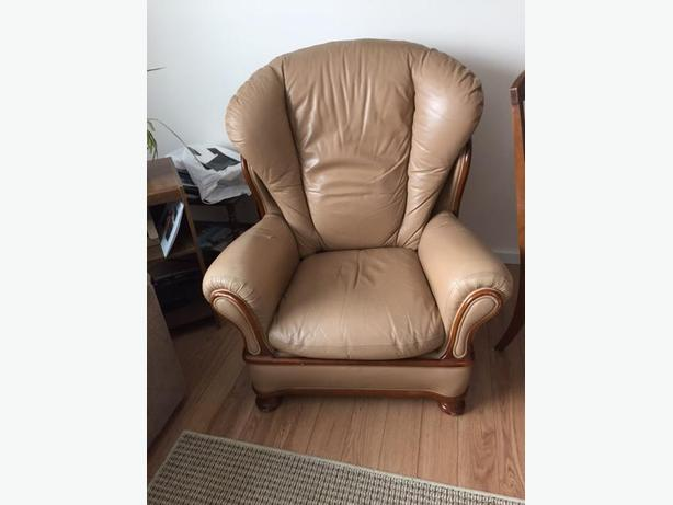 Leather  Chair / Computer chair /  /Chicken Coop New
