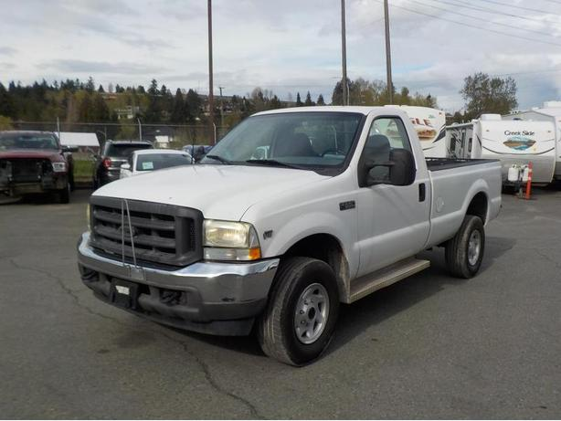 2002 Ford F-350 XL Regular Cab Long Box 4WD