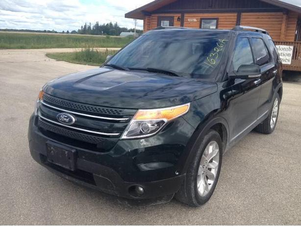 2013 Ford Explorer Limited SUV 7 passenger