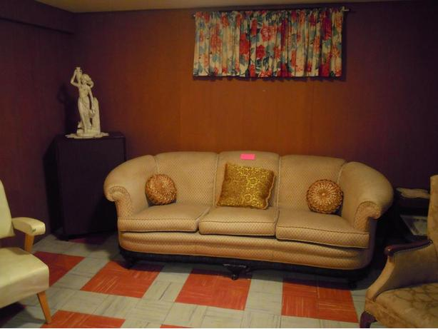 1940's Artdeco Couch and Chair