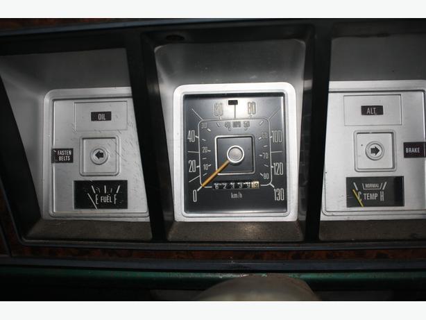 1979 ford bronco instrument cluster