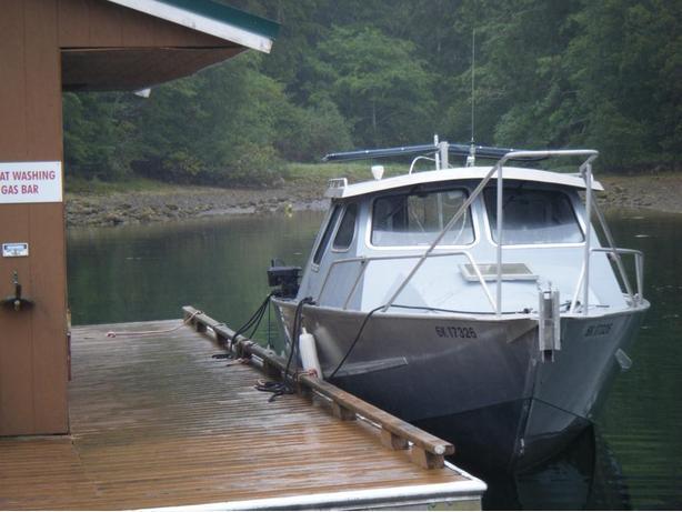 24' Canadian Custom Aluminum Fishing Boat