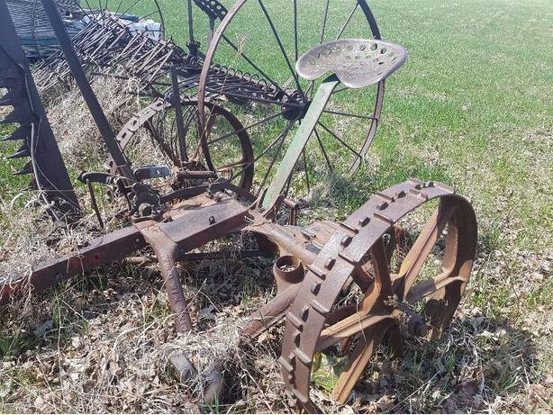 Vintage mower