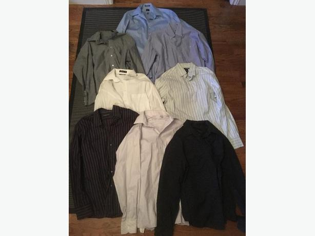 Assorted Men's Dress Shirts & Pants