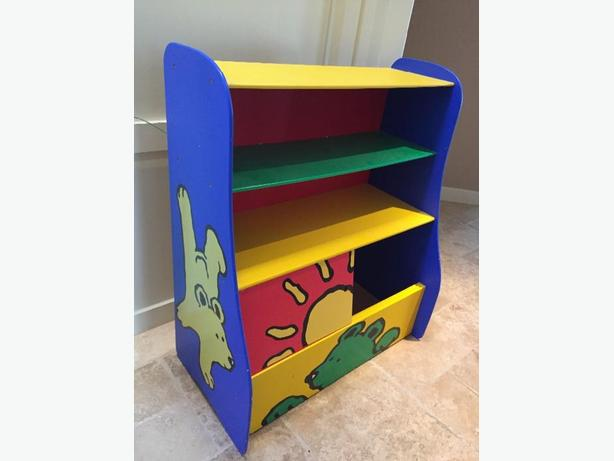 KIDS TOY BOX/ SHELF