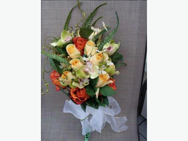 wedding flower artificial bouquet arrangement