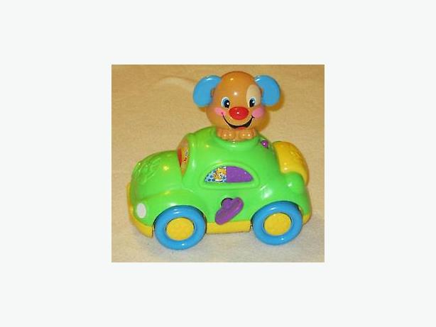 Fisher price puppy learning car laugh learn