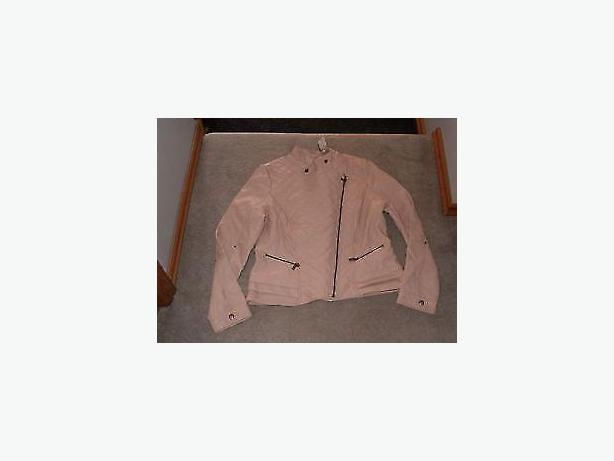 jacket ,light pink ,med size,outdoor jacket
