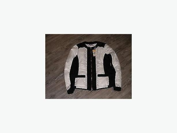 jacket black and white